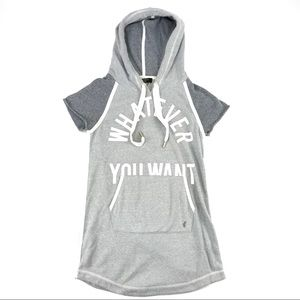 Juicy Couture Fashion Track Hoodie Dress Whatever